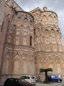 Exterior of the Apse, Monreale Cathedral