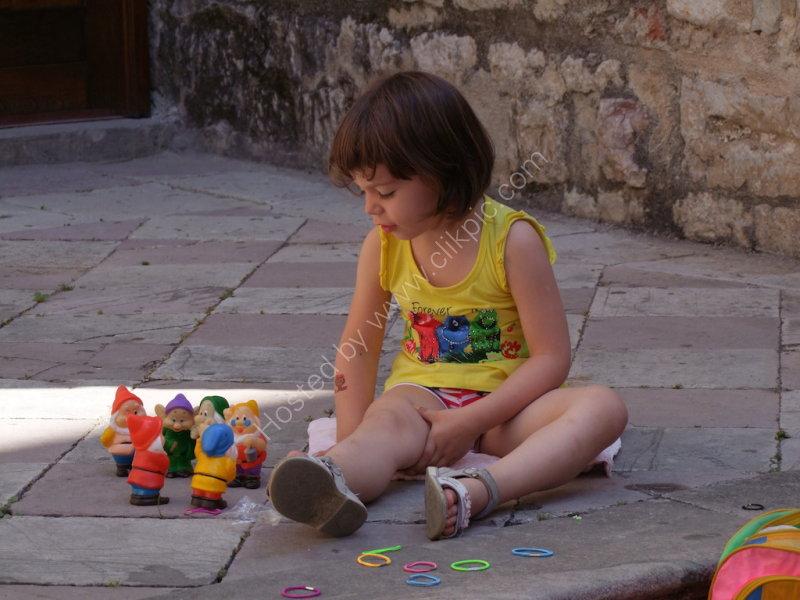 Montenegran child, Kotor