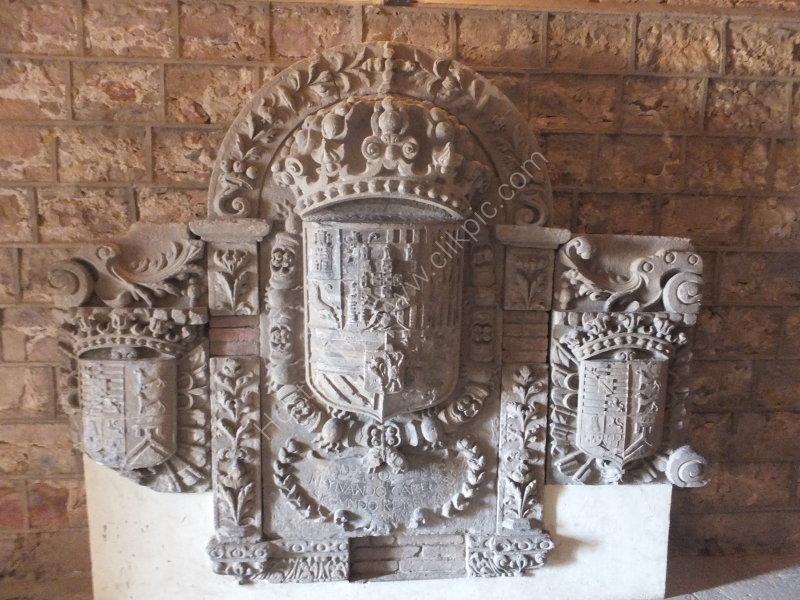 Coat of Arms, Montjuic Castle