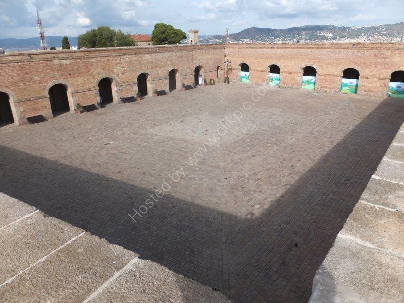 Inner Courtyard, Montjuic Castle