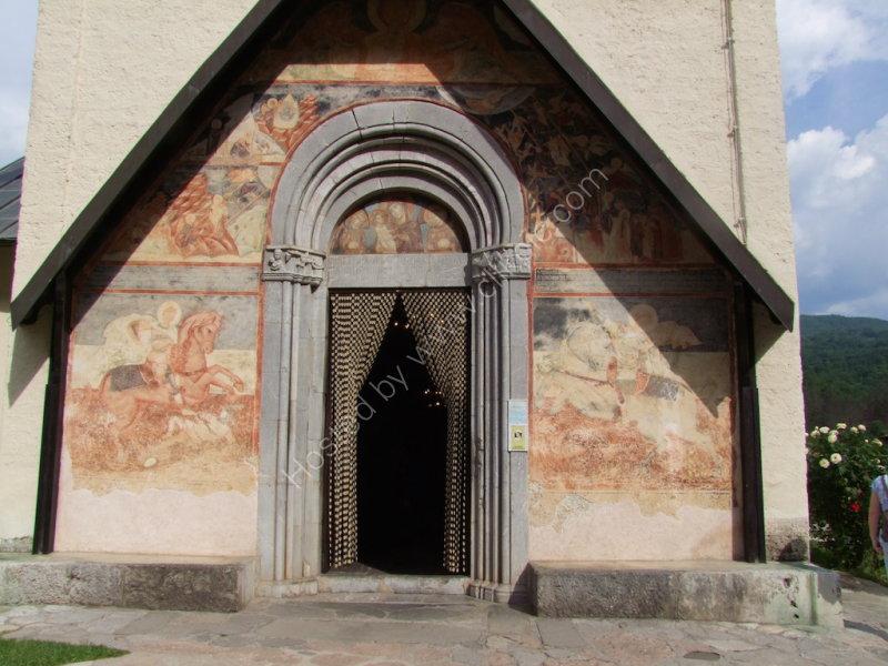Frescoes, Moraca Monastery