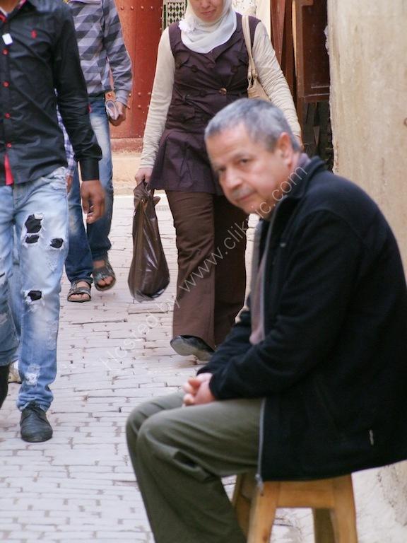 Moroccan Man, Fes