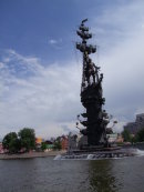 Peter the Great Monument, Moscow