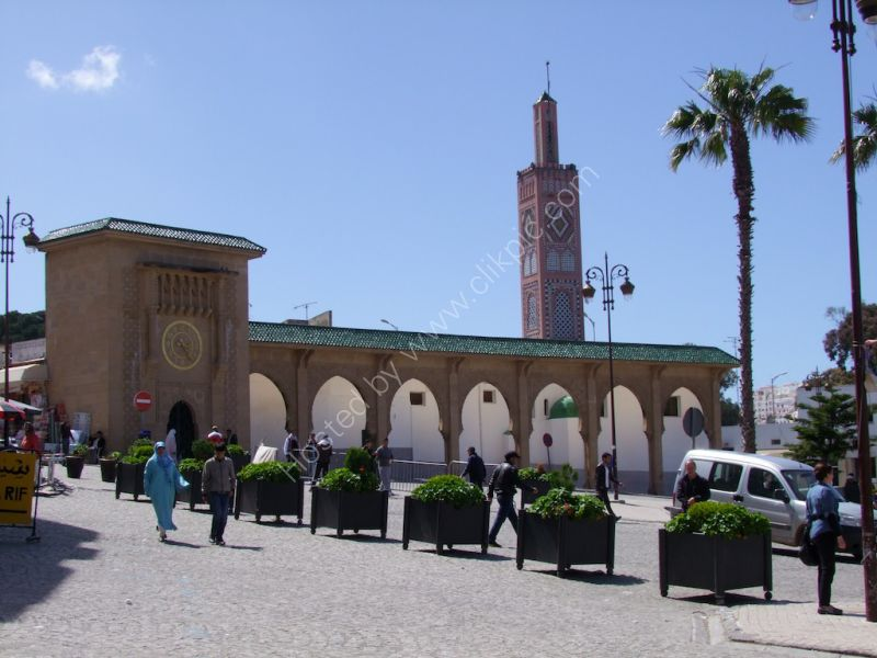Mosque, Grand Socco, Tangier