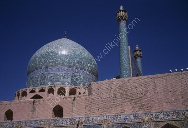 Blue Dome of Main Mosque, Isfahan
