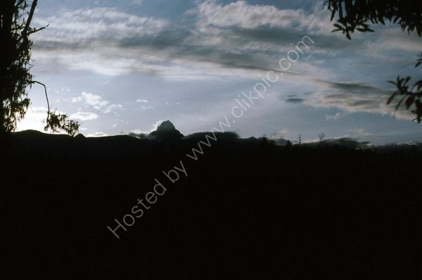 Evening View of Mount Kenya from Nanyuki