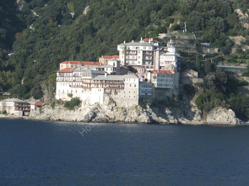 A Monastery on Mount Athos