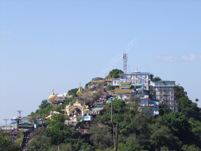 Mount Kyaiktiyo Pagoda
