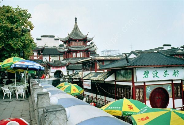 Typical Buildings, Old Town, Nanjing