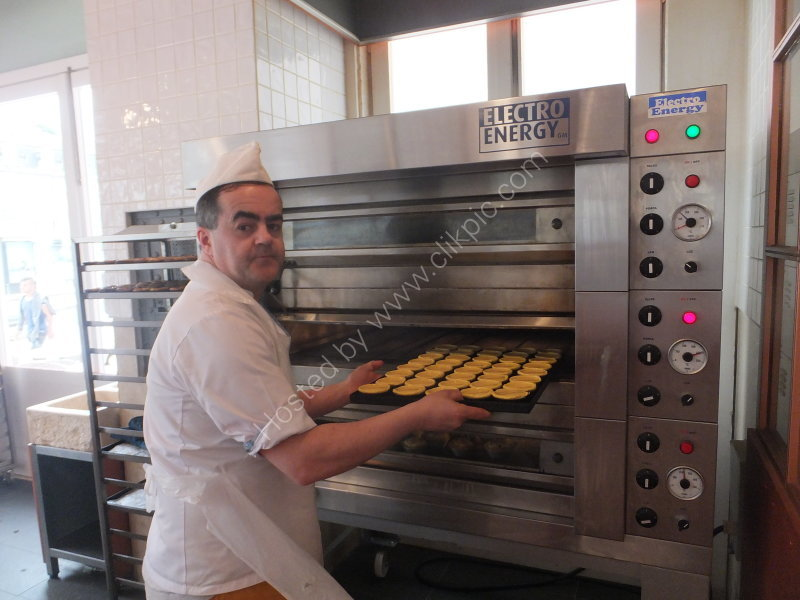 Production of Portuguese Pastry