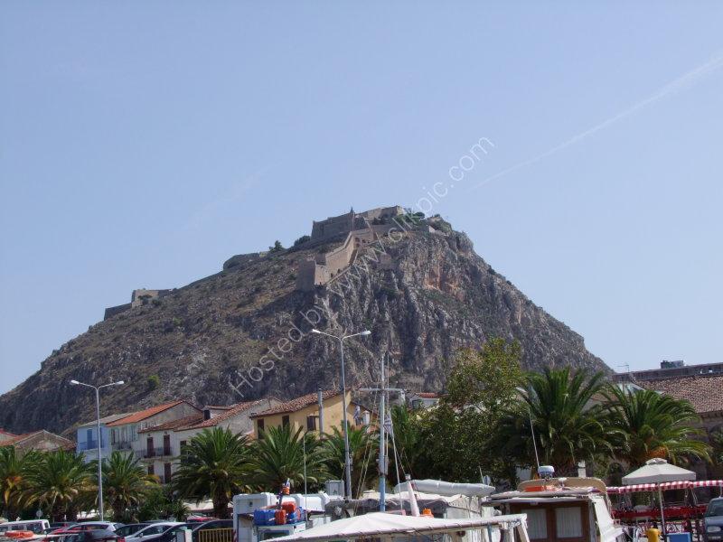Castle above Nauplia Town