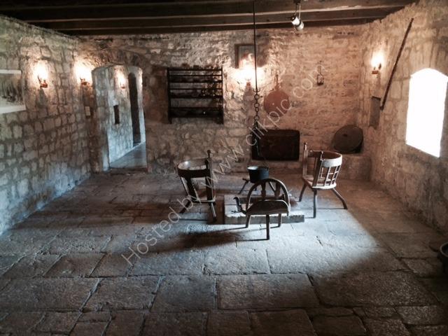 Inside King Nikola House, Njegusi