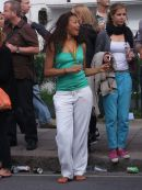 """Spectators in the """"groove""""! Notting Hill Carnival"""