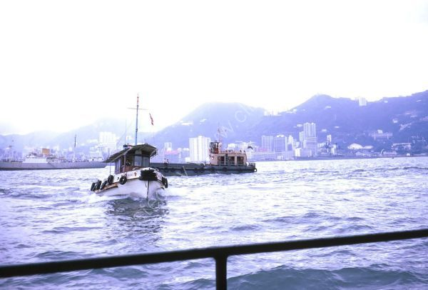 Official Harbour Boat, Victoria Harbour, Hong Kong