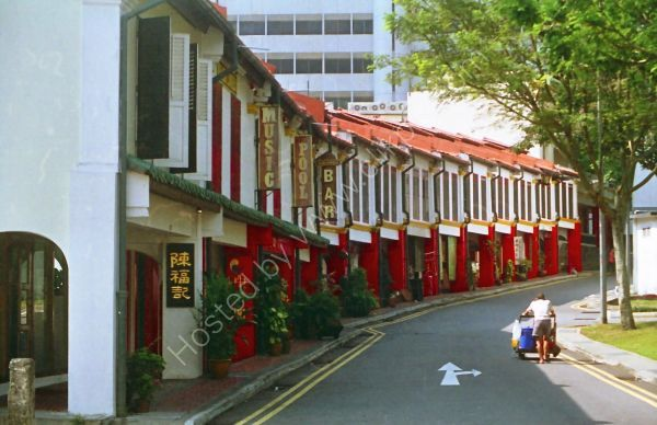 Renovated Area of Old China Town, Singapore