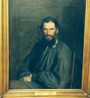 Portrait of Leo Tolstoy 1828-1910, Hermitage Museum