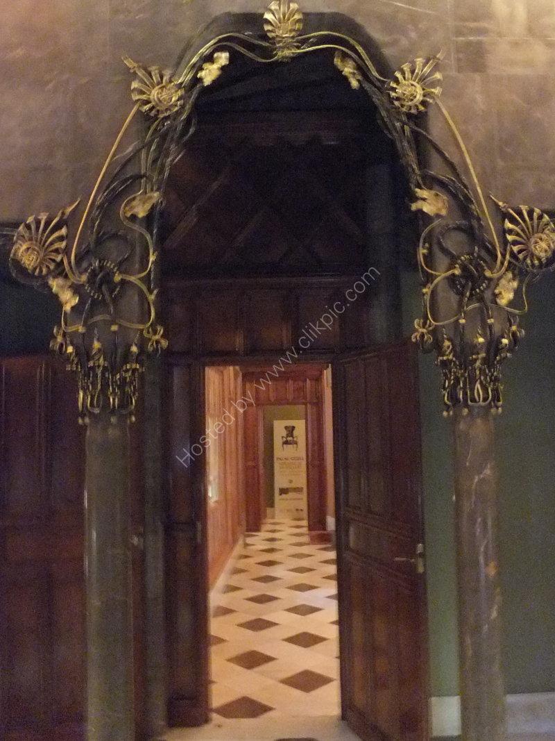 Ornate Gaudi Internal Doorway