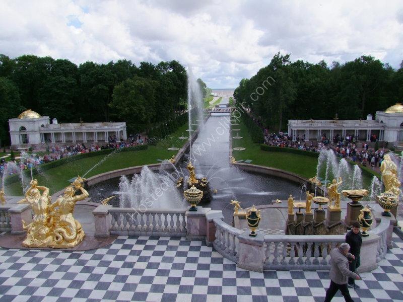 Marine Canal & Fountain Gardens, Peterhof