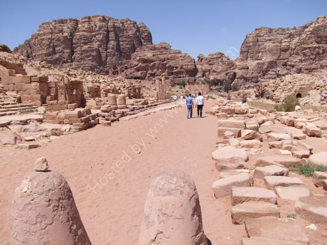 Roman Collonaded Street, Petra