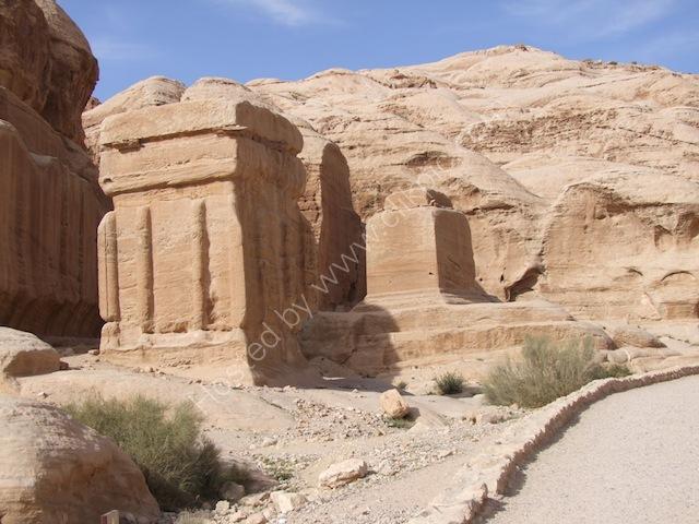 Jinn Blocks (God Blocks), Bab as-Siq Petra