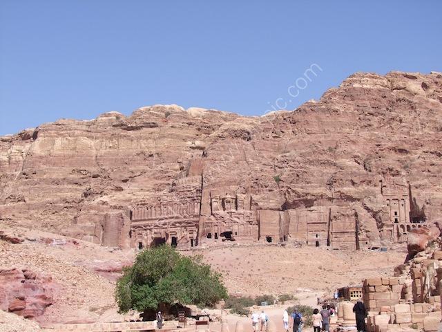 Row of Palace Tomb, Corinthian Tomb, Silk Tomb & Urn Tomb, Petra