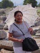 Mariela at Ancient Philippi, Kavala