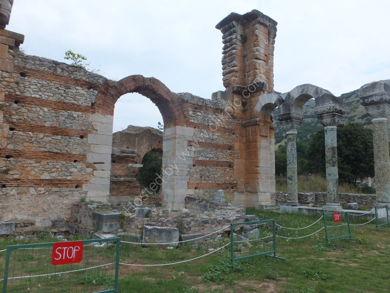 Remains of the Basilica, Philippi