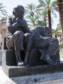 Bronze Sculture, Piazza Castelnuovo, Palermo