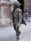 Caballero de Paris, Plaza San Fransisco, Havana