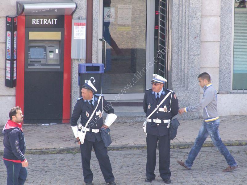 Moroccan Police Men