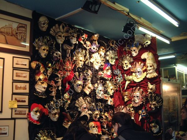 Festival Masks Stall, Portobello Road, London