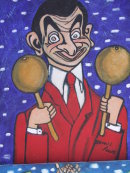 Mr Bean arrives in Cuba!