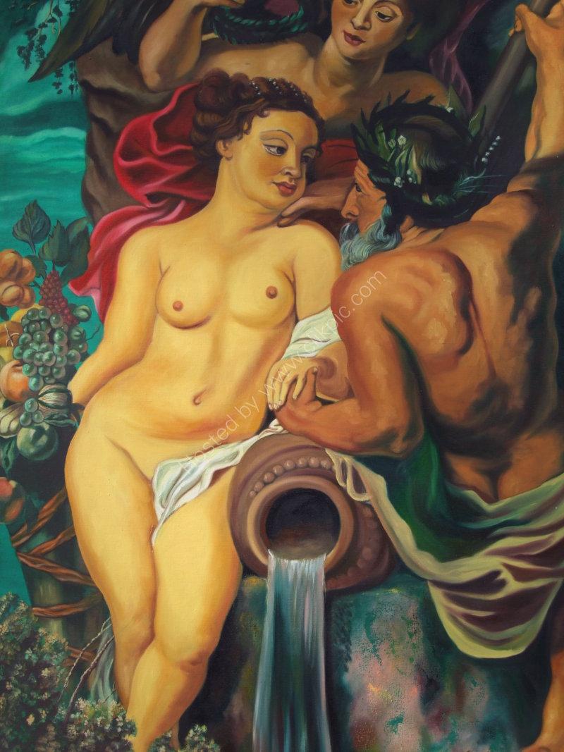 Nude Painting, Prado, Havana