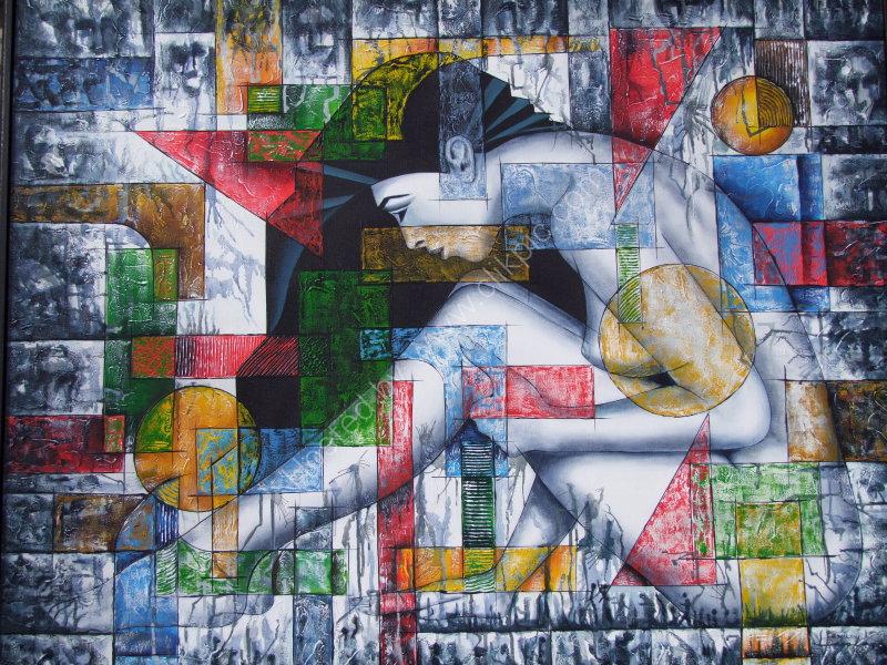 Painting for Sale, Prado, Havana