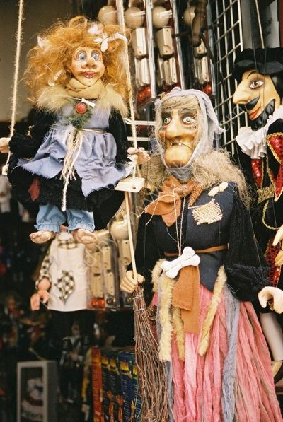 Marionette Shop, Old Town, Prague