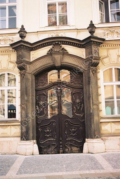 Doorway, Old Town, Prague