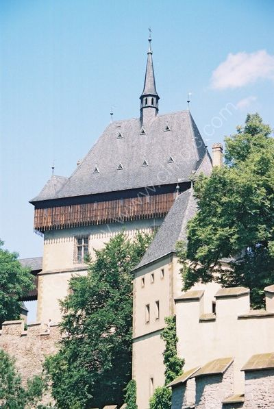 Karlstejn Castle, Czechoslovakia