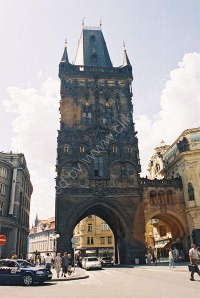 Powder Gate, Old Town, Prague