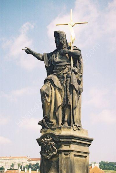 St John the Baptist, 1857, Charles Bridge, Prague
