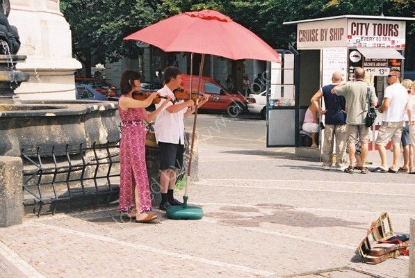 Street Corner Musicians, Old Town, Prague