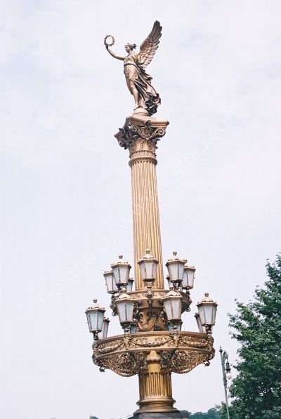 Light Stand at Rudolfinum, Old Town, Prague