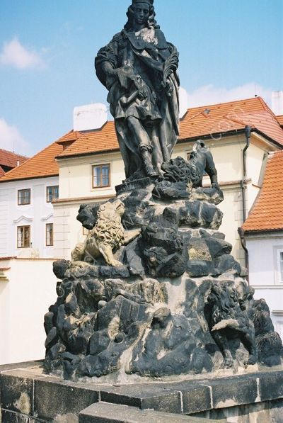 St Vitus, 1714, Charles Bridge, Prague