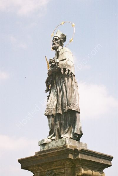 St John Nepomuk, 1729, Charles Bridge, Prague