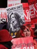 Protestor Women's Rights