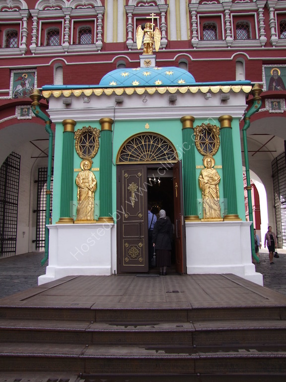 Chapel at The Iversky (Resurrection) Gate, entrance to Red Square