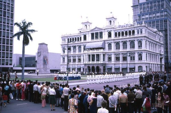 Remembrance Day, The Cenetaph, Hong Kong Island