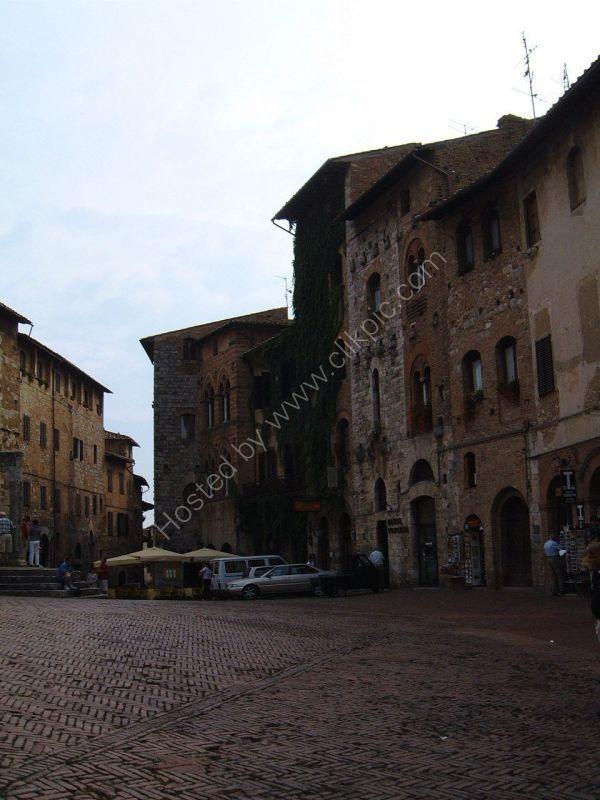 Square, San Gimignano, Tuscany