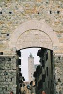 Arch, San Gimignano, Tuscany