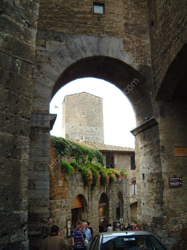 View of Tower, San Gimignano, Tuscany