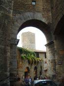 View of Tower, San Gimignano, Tuscany